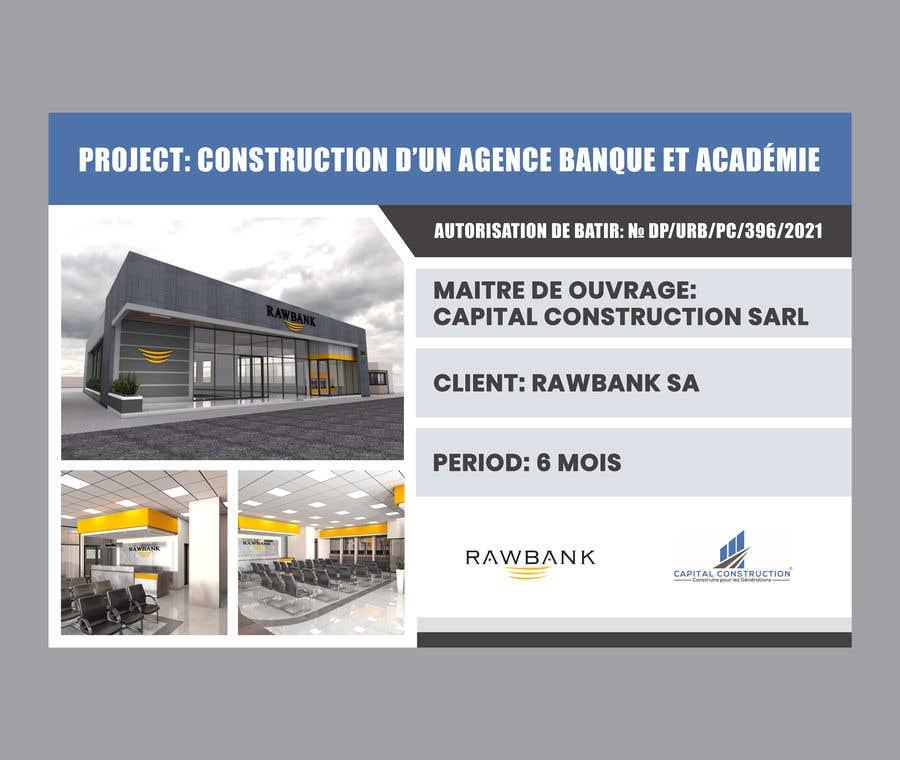 Konkurrenceindlæg #                                        30                                      for                                         Design A Construction Project Billboard