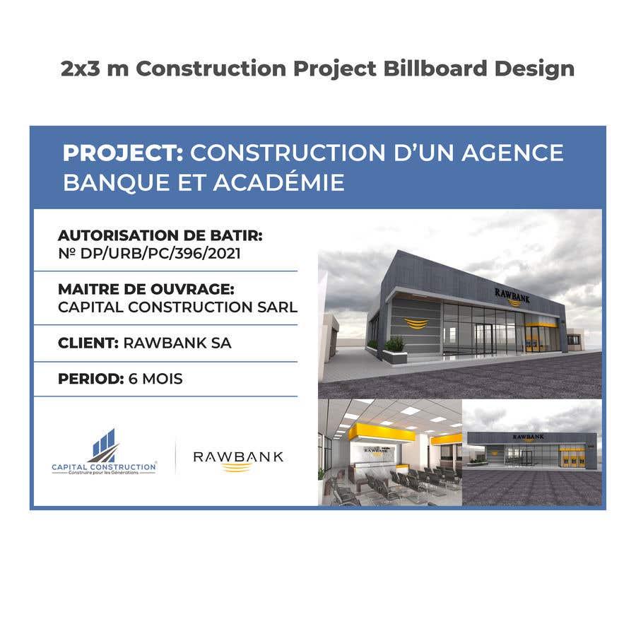 Bài tham dự cuộc thi #                                        8                                      cho                                         Design A Construction Project Billboard