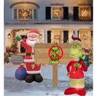 Blow Up Inflatable Outdoor Christmas Santa Claus and the Grinch için Graphic Design3 No.lu Yarışma Girdisi