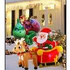 Blow Up Inflatable Outdoor Christmas Santa Claus and the Grinch için Graphic Design32 No.lu Yarışma Girdisi