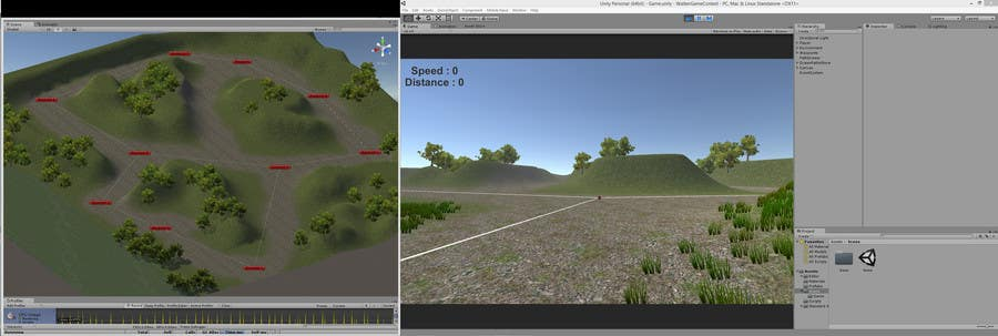 Konkurrenceindlæg #                                        7                                      for                                         Write some Software for Unity 3D that provides path selection