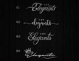 Nro 338 kilpailuun For Elegants käyttäjältä CreativityforU