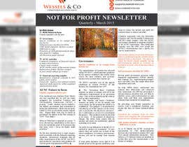 #7 untuk Design a Newsletter for an Audit firm oleh mamun313