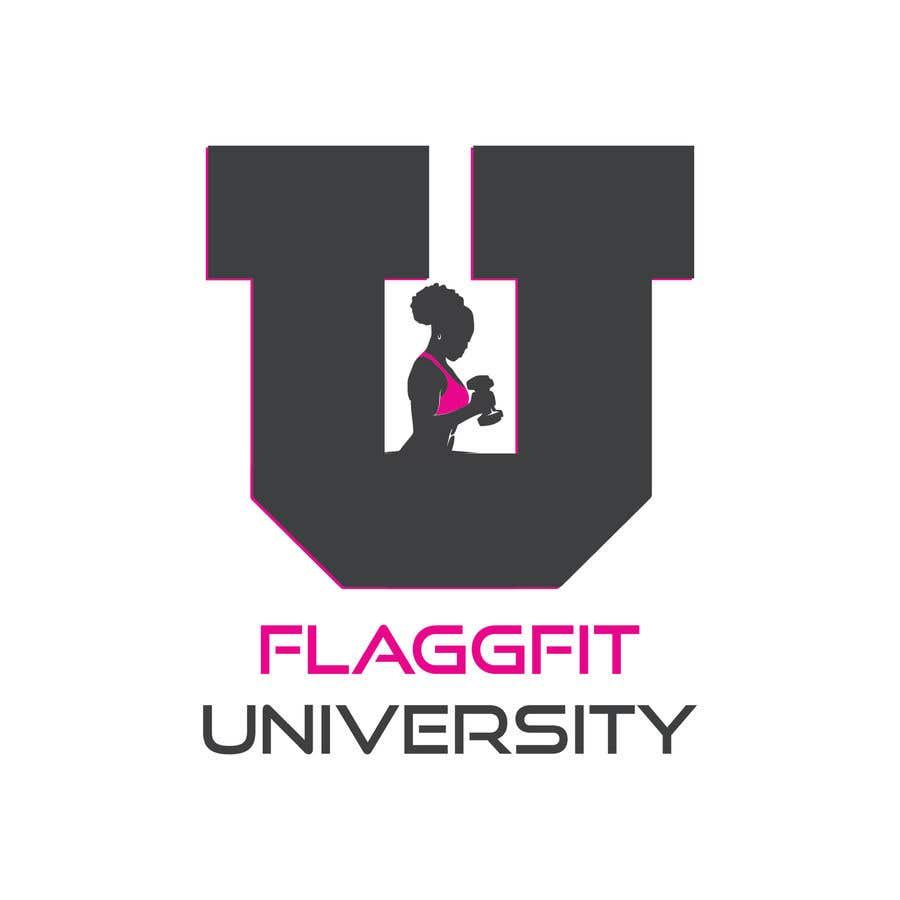 Конкурсная заявка №                                        44                                      для                                         Flaggfit University Logo