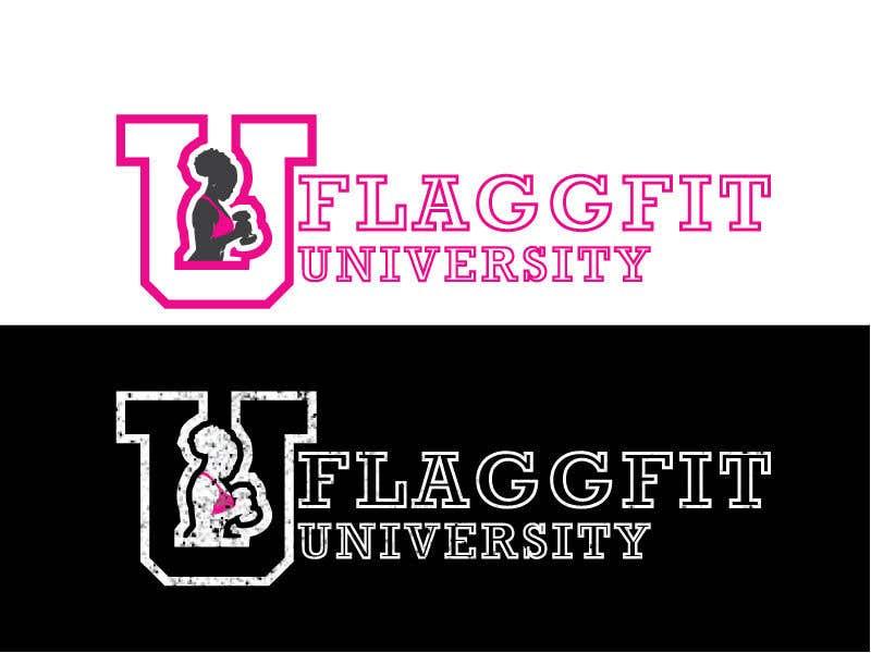 Конкурсная заявка №                                        333                                      для                                         Flaggfit University Logo