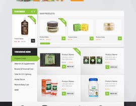 #3 for Design a Website Mockup for Natural Products E-Commerce Site by deep45