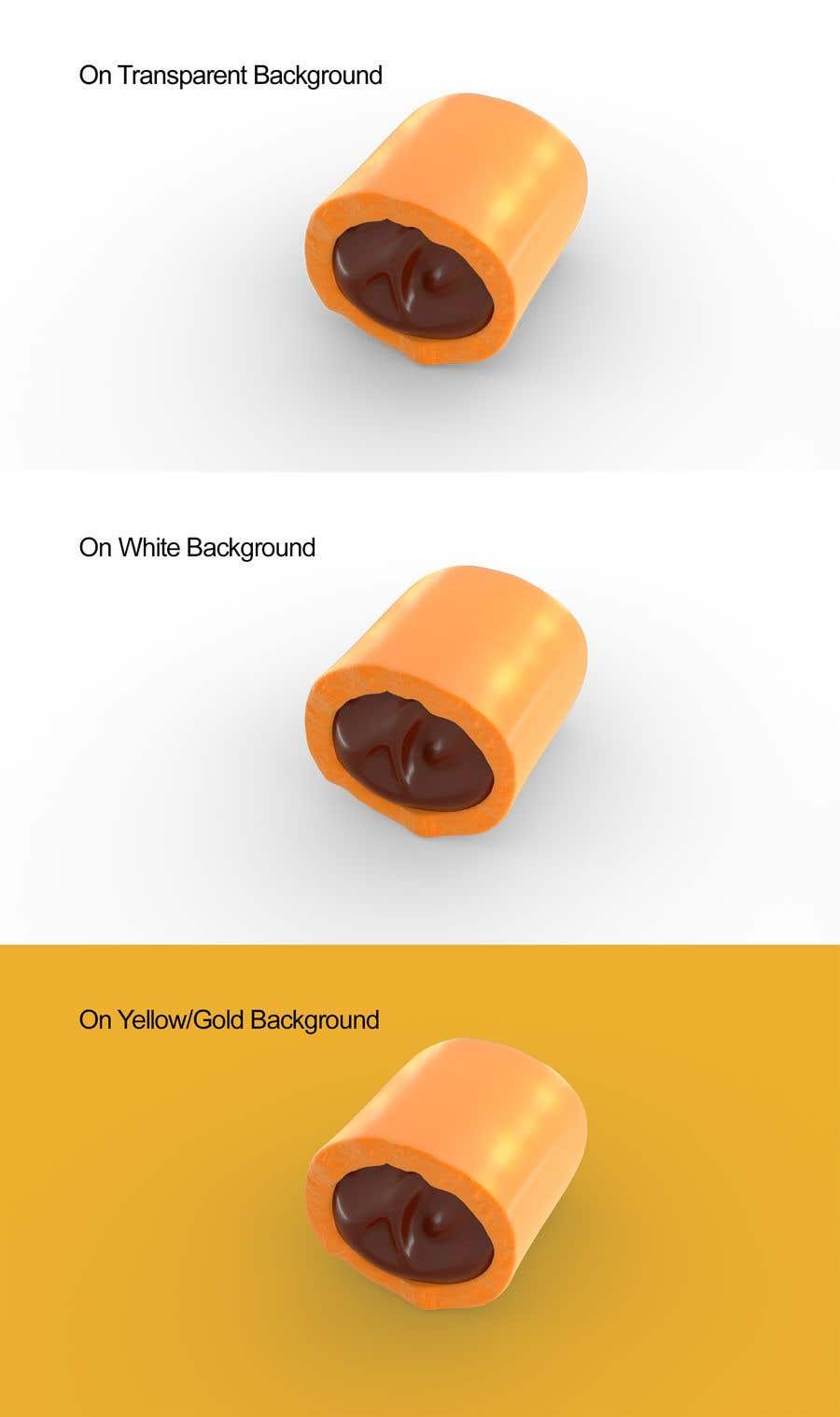 Penyertaan Peraduan #                                        45                                      untuk                                         Realistic 3D render of candy