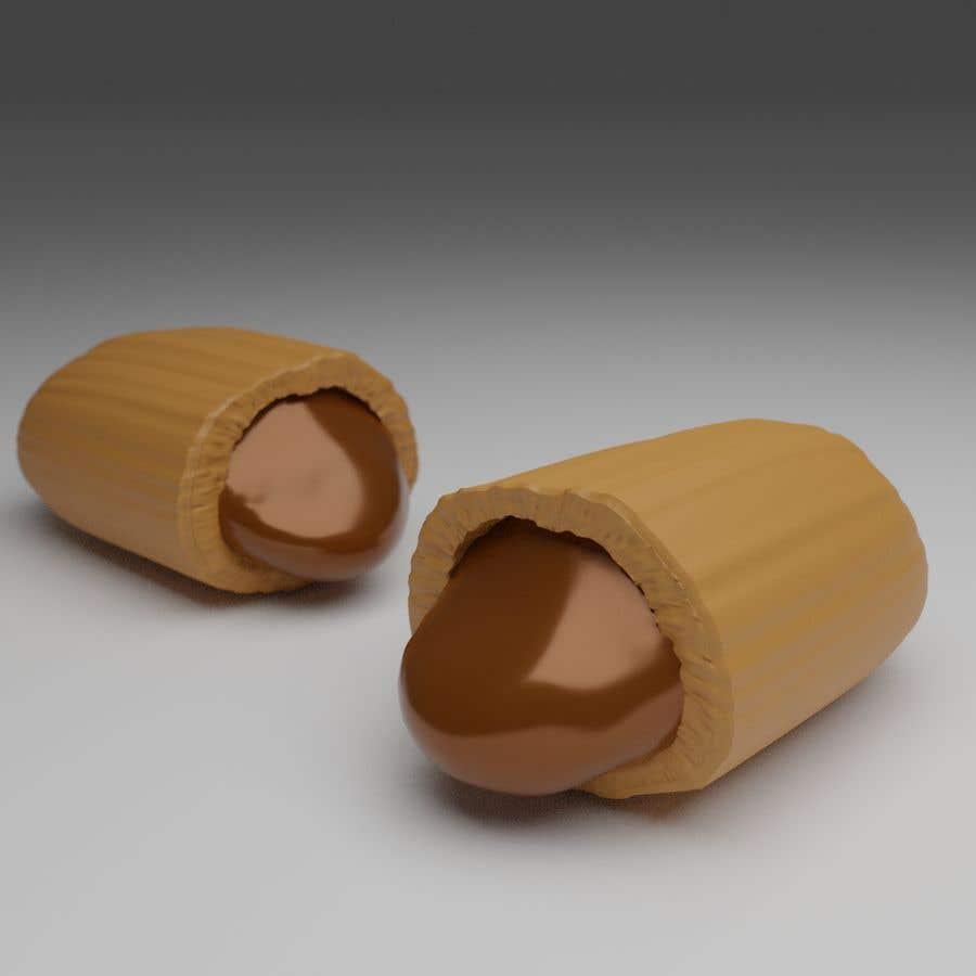 Penyertaan Peraduan #                                        40                                      untuk                                         Realistic 3D render of candy