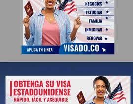 #259 untuk Billboards for USA Travel Visa Business oleh Creativeden