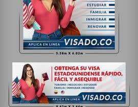 #81 untuk Billboards for USA Travel Visa Business oleh SAKTI2