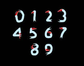 Tufazzalhussain7 tarafından Need an artist to draw numbers from 0 to 9 in different themes and styles için no 110
