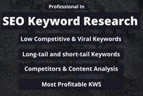 Proposition n° 13 du concours Marketing pour Need a keywords research for small inventory management saas website