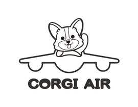 #331 для Need a Line Art Logo for Corgi Air от imtiazimti