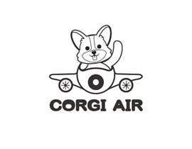 #345 для Need a Line Art Logo for Corgi Air от imtiazimti