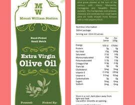shiblee10 tarafından Create a luxury country feeling olive oil label için no 117