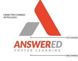 #376 for Logo Design for Answered (EduTech Startup) by sahidurrahmanala