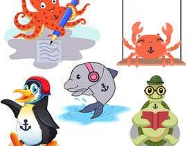 fkfiroj777 tarafından Create cartoon characters which I'll use as mascot icons on my website and promotional material için no 80