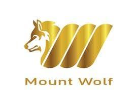 """Nro 101 kilpailuun need a logo for our new brand """"mount wolf"""" käyttäjältä nahinr885"""