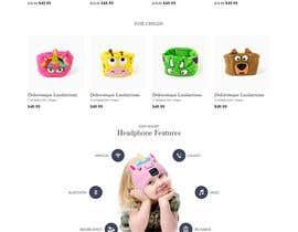 nº 22 pour Build me professional website for my headphone company par saidesigner87