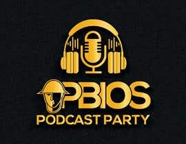 sharminnaharm tarafından PBIOS Podcast Party logo için no 276