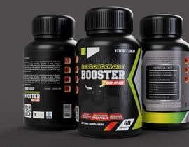 ivanipangstudio tarafından Label Design for testosterone booster - NO Logo design ! için no 114