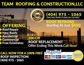 #9 for Design a Banner for Marietta Roofing Services by SmartArtStudios