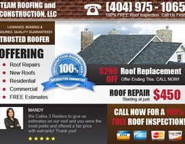 #19 for Design a Banner for Marietta Roofing Services by felixdaogas