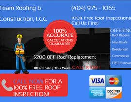 #5 for Design a Banner for Marietta Roofing Services af mai95