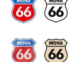 Nro 82 kilpailuun Mona's 66th birthday logo käyttäjältä tanvirmoon101