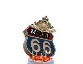 Nro 79 kilpailuun Mona's 66th birthday logo käyttäjältä Qurratulaaina