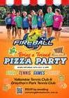 Logo Design Entri Peraduan #30 for Fireball Bring a Friend Pizza Party