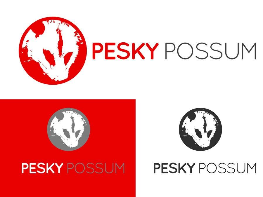 Penyertaan Peraduan #80 untuk Design a Logo for Pesky Possum Pest Control