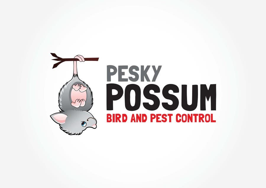 Penyertaan Peraduan #24 untuk Design a Logo for Pesky Possum Pest Control