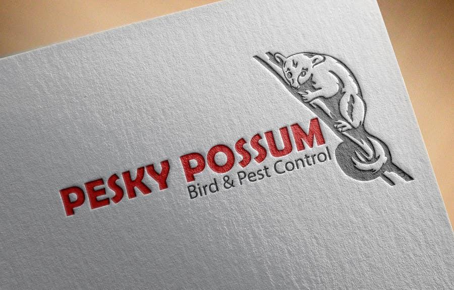 Penyertaan Peraduan #35 untuk Design a Logo for Pesky Possum Pest Control