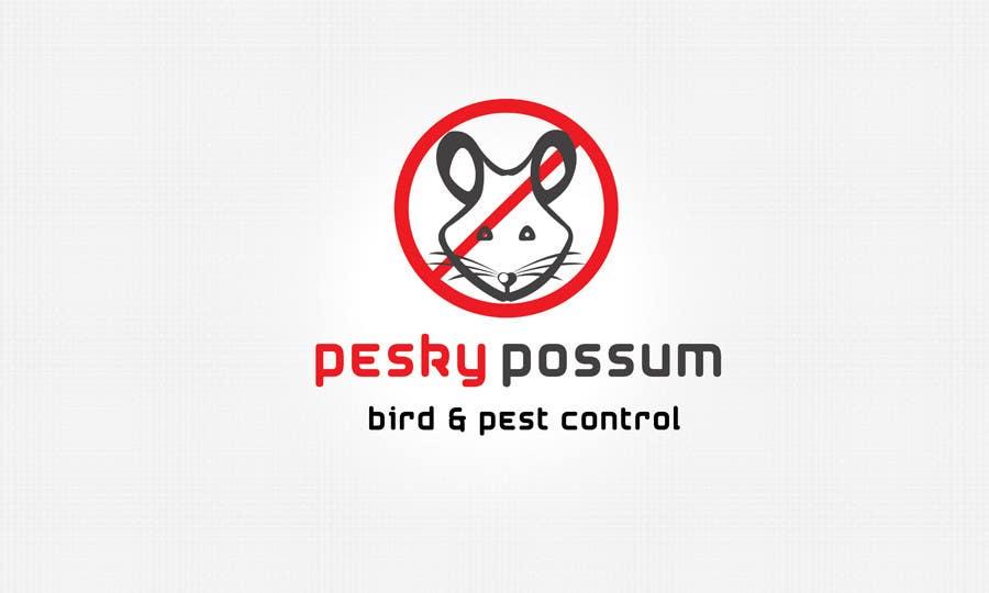 Penyertaan Peraduan #77 untuk Design a Logo for Pesky Possum Pest Control