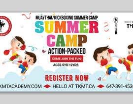 TheCloudDigital tarafından Summer Camp Banner Design için no 61
