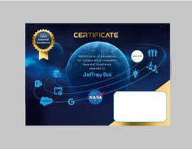 #77 для NASA Challenge: Design a CoECI Team Member Certificate от lilymakh