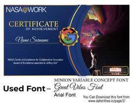 #78 для NASA Challenge: Design a CoECI Team Member Certificate от shakil143s