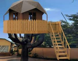 #55 para Design a treehouse on top of a tree that was trimmed and cut por MikolaF