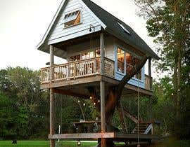 #78 para Design a treehouse on top of a tree that was trimmed and cut por fneish1994sh16