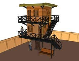 #51 para Design a treehouse on top of a tree that was trimmed and cut por Davidyogi23