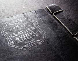 #3 para Leather and Vinyl Company Logo por ayubouhait