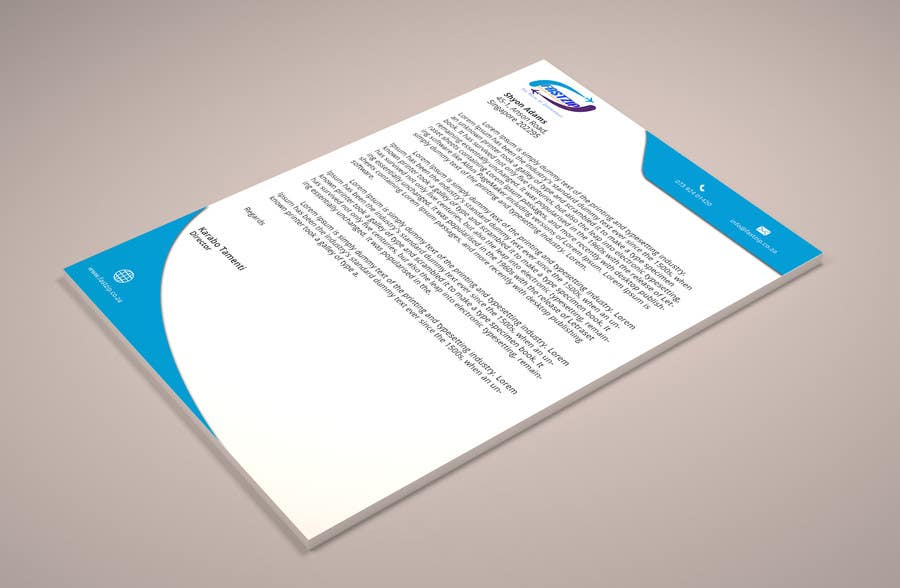 Konkurrenceindlæg #                                        23                                      for                                         Design Letterhead and Business Card for a travel business