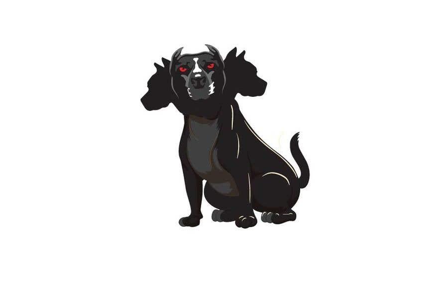 Kilpailutyö #                                        121                                      kilpailussa                                         cerberus puppy