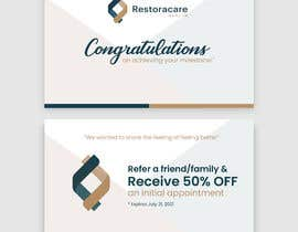 """#105 for 3"""" x 5"""" Double sided Promotional Card For Clinic Opening by se7ensky"""