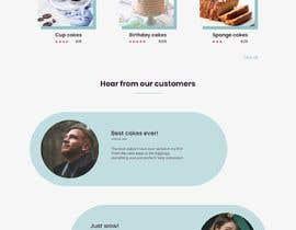 Nro 24 kilpailuun Custom cake shop website design käyttäjältä ankit99d