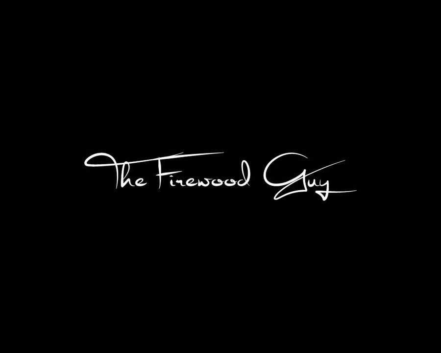 """Bài tham dự cuộc thi #                                        22                                      cho                                         """"The Firewood Guy"""" Logo"""