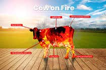 Graphic Design Contest Entry #19 for Make me a Cow Fire Graphic