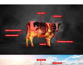 #24 for Make me a Cow Fire Graphic by joshuacastro183