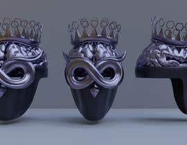 Nro 48 kilpailuun Create a 3D Helmet For A Rapper käyttäjältä tysonc3d
